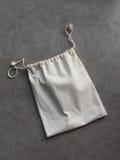 Cotton laundry bag Stock Images