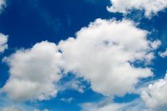 Cotton like cloudy sky Royalty Free Stock Photos