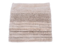 Cotton linen cut pile rug Stock Photography