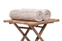 Cotton linen cut pile rug Royalty Free Stock Photo