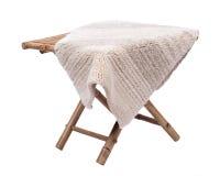 Cotton linen cut pile rug Royalty Free Stock Photos