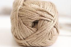 Cotton and linen yarn Royalty Free Stock Image