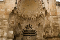 Cotton Merchants' Gate, Jerusalem, Israel Royalty Free Stock Images