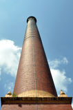 Cotton Mill Chimney Royalty Free Stock Images