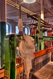 Cotton Mill Equipment Royalty Free Stock Image