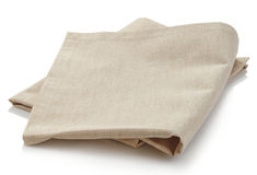 Cotton napkin Stock Photo