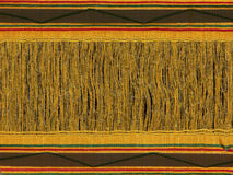 Cotton native thai pattern Royalty Free Stock Photos