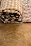 Cotton, natural dyes, wood floors, surfaces, cotton. Royalty Free Stock Photography