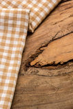 Cotton, natural dyes, wood floors, surfaces, cotton. Stock Photos