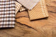 Cotton, natural dyes, wood floors, surfaces, cotton. Stock Photography