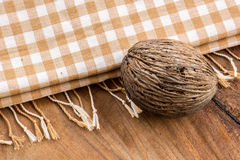 Cotton, natural dyes, wood floors, surfaces, cotton. Royalty Free Stock Photos
