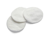 Cotton pad Stock Photography