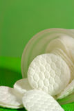 Cotton pads Royalty Free Stock Images