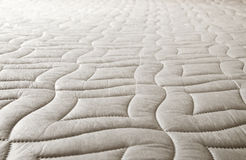Cotton pattern on the mattress royalty free stock photo