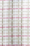Cotton pattern. Cotton seemless pattern with many color stripe Stock Image