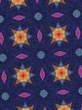 Cotton pattern Royalty Free Stock Images