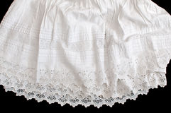 Cotton Petticoat Royalty Free Stock Photography