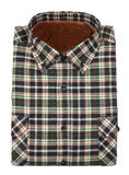 Cotton plaid shirt Stock Photography