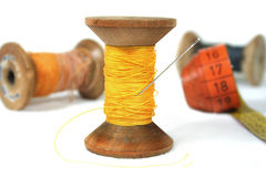 Cotton reel Royalty Free Stock Photo