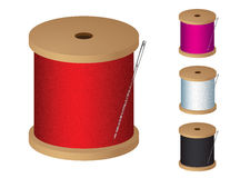 Cotton reel Stock Photos