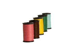 Cotton Reels Royalty Free Stock Images