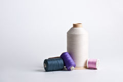Cotton reels Stock Image