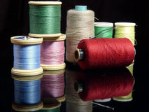 Cotton Reels Stock Images