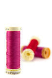 Cotton reels. Stock Photography