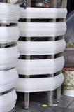 Cotton Roll Wood Thread Royalty Free Stock Photos
