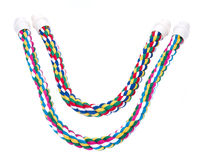 Cotton rope comfy perches Royalty Free Stock Photo