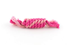 Cotton rope for dog toy Royalty Free Stock Images