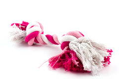 Cotton rope for dog toy Stock Image