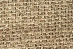 Cotton sack texture Stock Photo