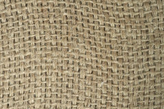 Cotton sack texture Royalty Free Stock Photography