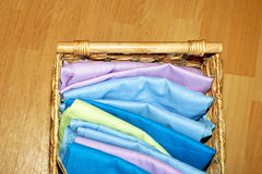 Cotton sheets Stock Photo