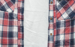 Cotton shirt Royalty Free Stock Images