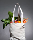 Cotton shopping bag Royalty Free Stock Photo