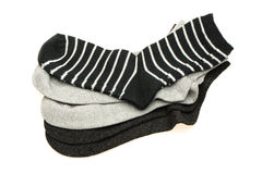 Cotton socks Stock Photography