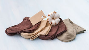 Cotton socks Royalty Free Stock Image