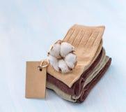Cotton socks Royalty Free Stock Photos