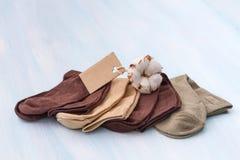 Cotton socks Royalty Free Stock Photo