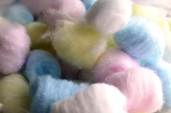 Cotton Soft Balls Royalty Free Stock Image