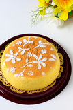 Cotton Soft Cheese Cake Royalty Free Stock Photography
