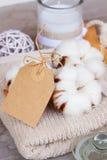 Cotton spa Royalty Free Stock Photo