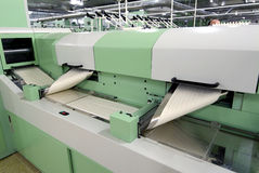 Cotton Spinning Machine_1. Factory Cotton Spinning Machine Particular Stock Photo