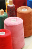 Cotton spools Royalty Free Stock Image