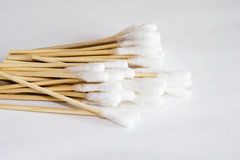 Cotton stick Royalty Free Stock Image