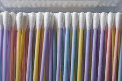 Cotton sticks Stock Photos