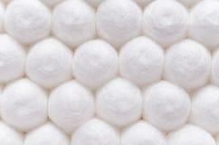 Cotton sticks close-up background texture.  stock images