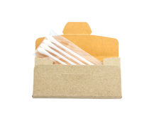 Cotton sticks in package Royalty Free Stock Photography